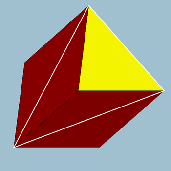 3D Shape - Triangular Prism